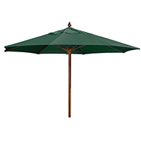 6 Foot Square Augusta Umbrella