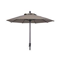 7.5 Foot Market Umbrella with Olefin Top & Tilt