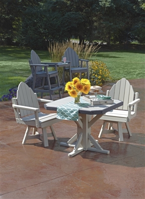 Adirondack Dining Chair with Swivel
