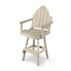 Bar Height Adirondack Back Chair<br>with Swivel