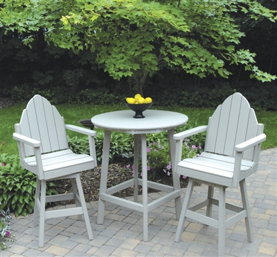 Bar Height Adirondack Back Chair