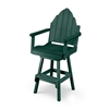 Bar Height Adirondack Back Chair with Swivel Flex