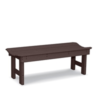 "36"" Backless Bench with Curved Seat"