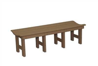 "72"" Backless Bench"