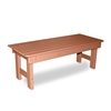 "72"" Backless Bench with Flat Seat"