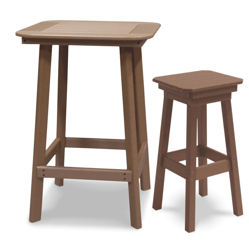 Cambridge bar height table with 2 swivel bar stools