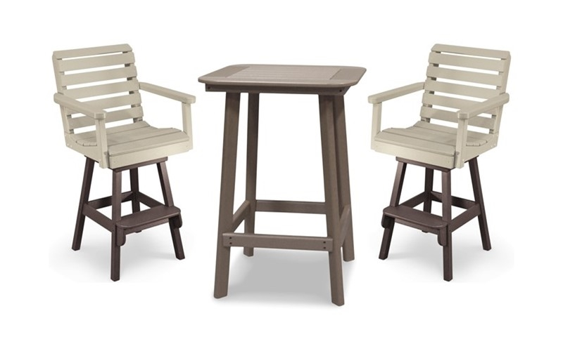 Remarkable 28 Round Framed Bar Height Table With 2 Chairs Uwap Interior Chair Design Uwaporg