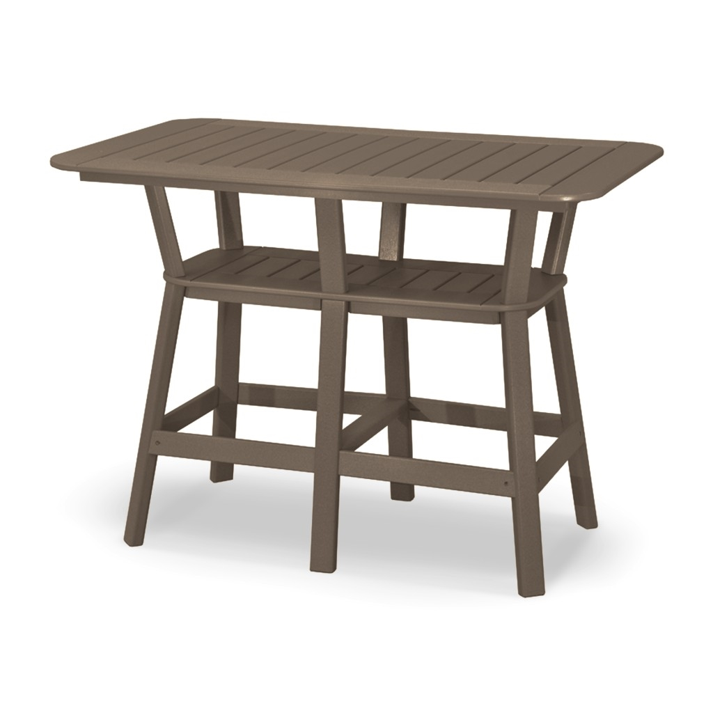 Picture of: 36 X 58 Bar Height Table With 6 Swivel Chairs