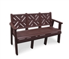 "60"" Chippendale Bench"