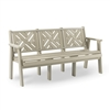 72 inch Chippendale Bench