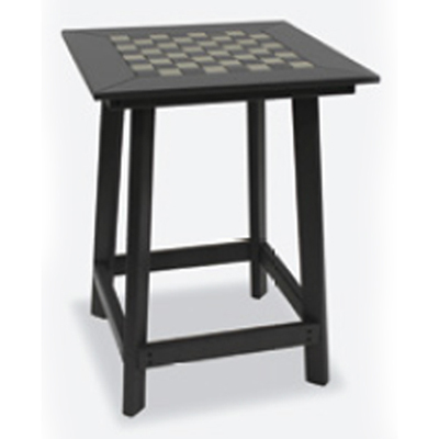 Counter Height Game Table with 2 Swivel Stools