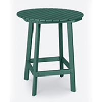 "36"" Diameter Counter Height Table with 4 Stools"