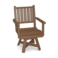 "Capri Chair - 20"" Width  with Swivel"