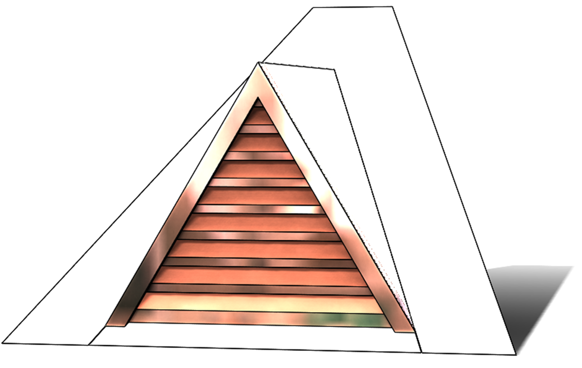 Triangle Roof Dormer