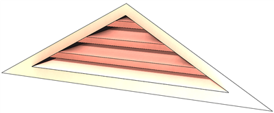 wall vent, gable vent, copper wall vent, copper gable vent, triangular wall vent, triangular louver, copper louver, louver, vent louver vent, copper louver vent, copper vent, gable vent, copper gable end vent, gable vent, gable end vent