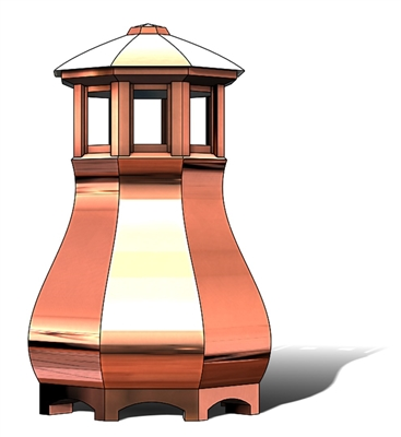 Baker's Copper Chimney Pot