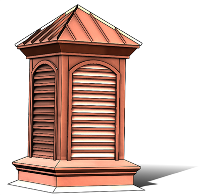 copper cupola, copper barn cupola, cupola, barn cupola, roof adornment, roof cupola, roof decoration, roof decor, copper roof decor, large cupola, estate cupola, large copper cupola, large custom cupola, custom cupola, Mediterranean Cupola, Mediterranean