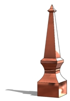 Copper Victorian Roof Finial, Copper roof spire, finial, copper finial, roof finial, roof spire, spire