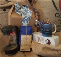 Survival Box with French Press
