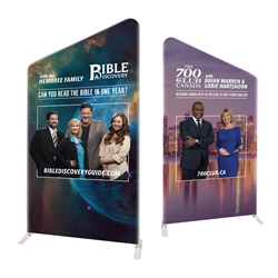 "58"" Angular Modular Display Double Sided Replacement Print only"
