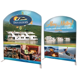 "78"" Curved Modular Display Double Sided Replacement Prints Only"