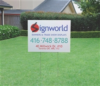 "Coroplast Lawn Sign 4mm - 18"" x 24"""