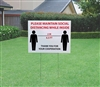 Coroplast Lawn Sign 4mm - 24x18