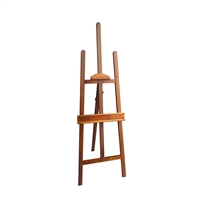 Light Finish Heavy Duty Wooden Display and Art Easel