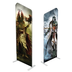 "38"" Angular Modular Display Double Sided Print"