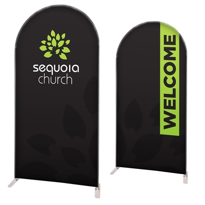 "58"" Circular Modular Display Double Sided Print"