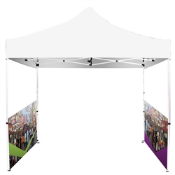 Printed Full-Colour Canopy Tent SIDE WALLS ONLY