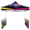 Printed Full-Colour Canopy Tent with Side Walls