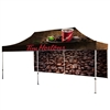 20' UV Printed Full-Colour Canopy Tent With Back Walls