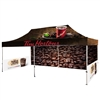 20' UV Printed Full-Colour Canopy Tent With Back and Side Walls