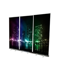 "33"" Roll Up Retractable Banner Stand"