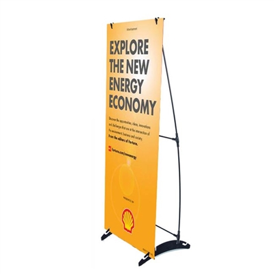 "24"" x 63"" H Banner Stand"
