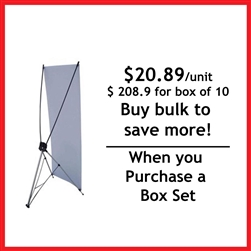 "32"" X Banner Stand"