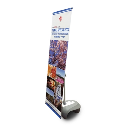 "24"" Outdoor X Banner Stand"