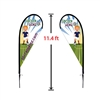 MEDIUM DOUBLE-SIDED TEAR DROP FLAG KIT