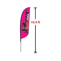 SMALL FEATHER FLAG KIT 10'