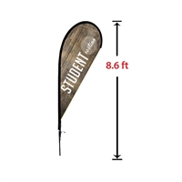 Tear Drop Flags Banner Stand Small
