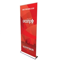 "24"" Roll Up Retractable Banner Stand - Pro Line-Up"