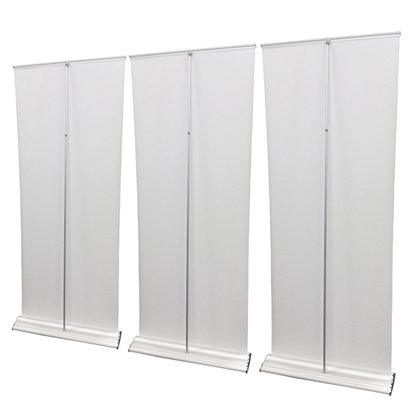 Roll Up Retractable Banner Stand Wall 10' - Pro Line Up