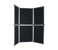 6 Panel Velcro Presentation Display Board