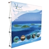 8 feet Fabric Pop Up Display With Fabric Print