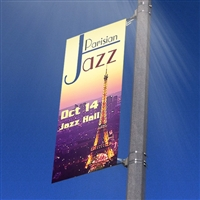 Street Light Pole Banner 18''
