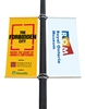 "Street Light Pole Banner Brackets 18"" Double Set"