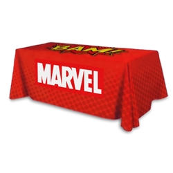 3-Sided Table Throw 6ft
