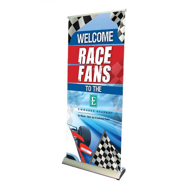 33 Premium Roll Up Retractable Banner Stand