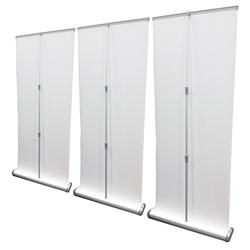 Premium Roll Up Retractable Banner Stand Wall 10'